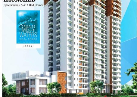 Prestige Misty Waters – New Tower Vista